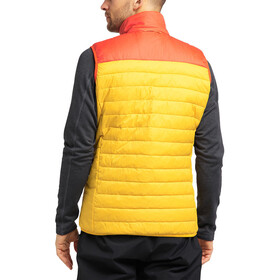 Haglöfs Spire Mimic Vest Men, pumpkin yellow/habanero